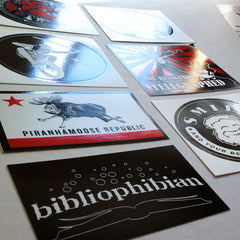 Vinyl Sticker Packs.