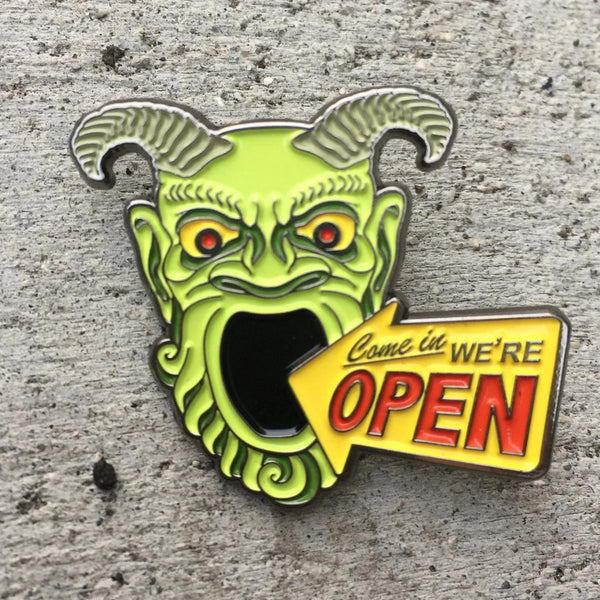Enamel Pin - Tomb of Horrors
