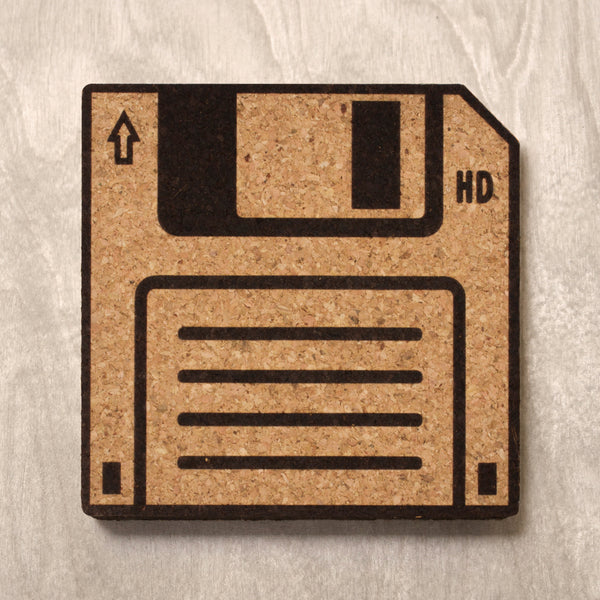 Drink Coaster - Floppy Disk