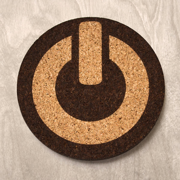 Drink Coaster - Power Symbol