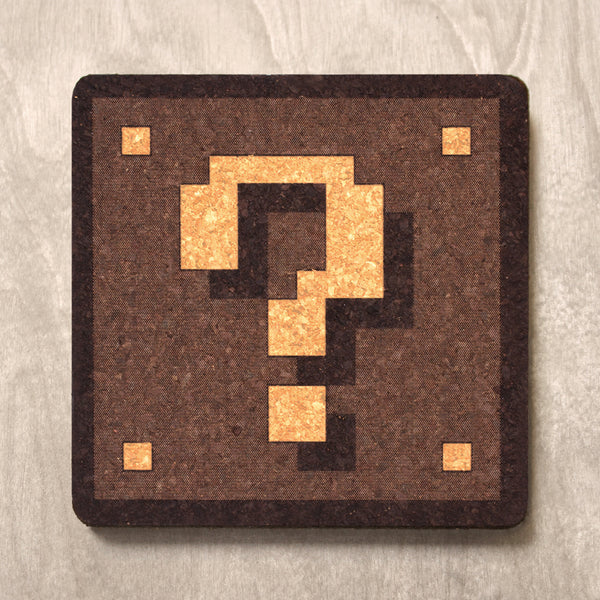 Question Block - Drink Coaster