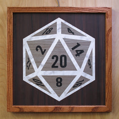 D20 Wall Buddy – WIZARD