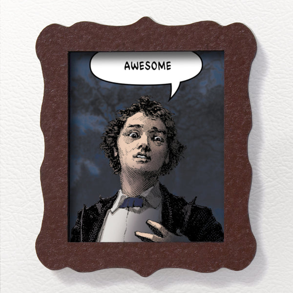 Awesome - Acrylic Magnet