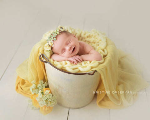 Arrow blanket | Butter - Peach Stitch Photography Props