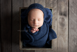 Sweater knit wraps | bonnet sets - Peach Stitch Photography Props
