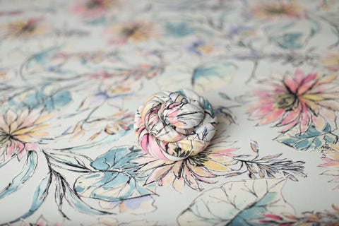 Watercolor wrap and/or backdrop | RTS