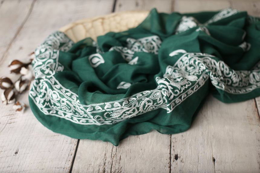 Holiday Green Antique Drop layer | RTS