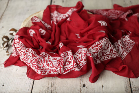 Holiday Red Antique Drop layer | RTS