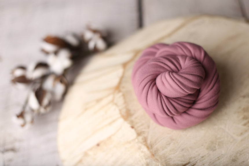 Mauve Rose wrap | Cloud | RTS