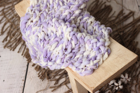 Arrow blanket | Lavender speckles | RTS
