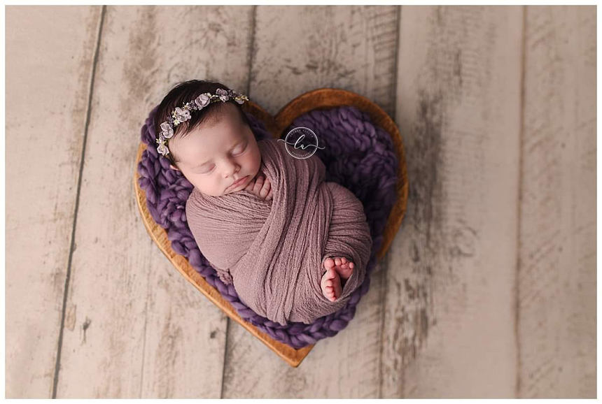 Arrow blanket | Cream - Peach Stitch Photography Props