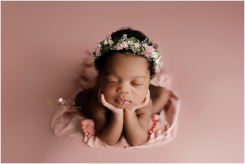 Baby Pink wrap and/or backdrop set | Cloud | RTS