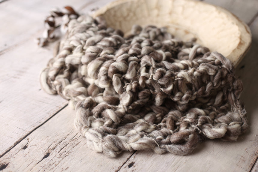 Brown Tiger chunky layer | RTS