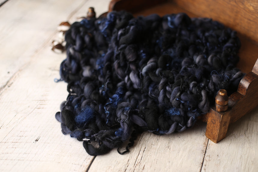 Midnight Sky curly blanket | RTS