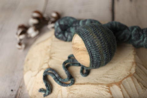 Augean bonnet and wrap set | RTS
