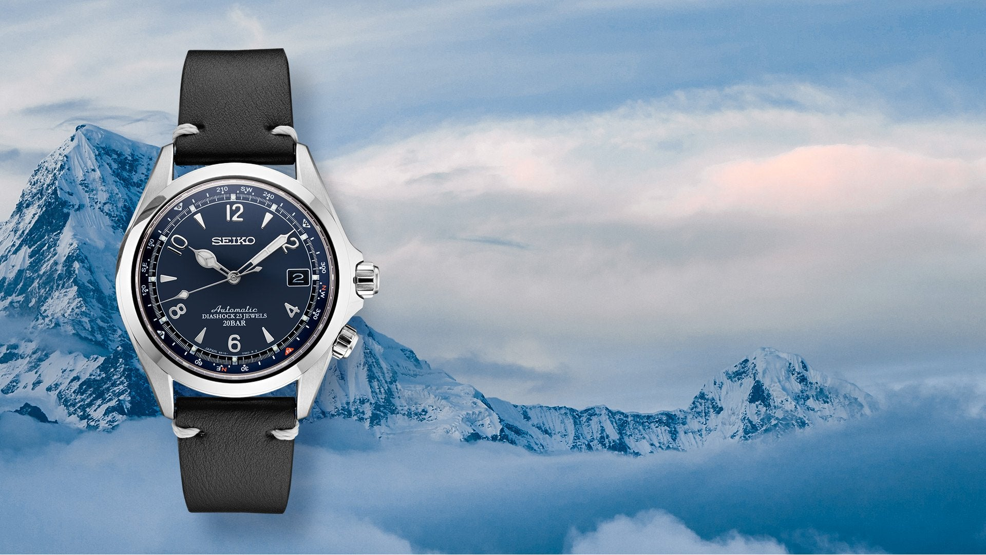 SEIKO COMMEMORATES <br>ICONIC 1959  ALPINIST <br>WITH U.S. LIMITED EDITION