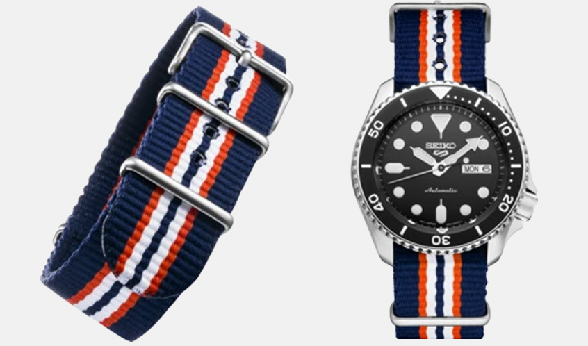 FREE STRAP WITH SELECT SEIKO 5 WATCHES