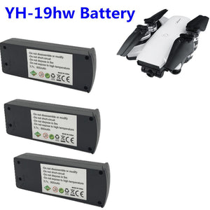 YH-19HW Battery 3.7V 800mah lipo Battery For YH-19HW Rc Quadcopter Spare Parts 3in1 Charger Lipo Battery Accessories Rc Drones