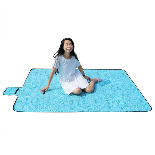 Large Waterproof Picnic Blanket - (Perfect For Beach or Camping)
