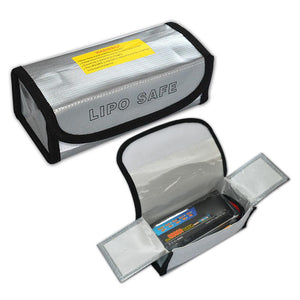 Li-Po Battery Protection - Fireproof Safety Guard - Carrying Case