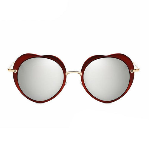 Round Retro Frame / Mirrored Lense - Sun Glasses  ( Choose Your Color)