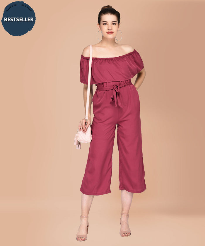 Belted With A Purpose Jumpsuit