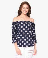 Blooming Night Top