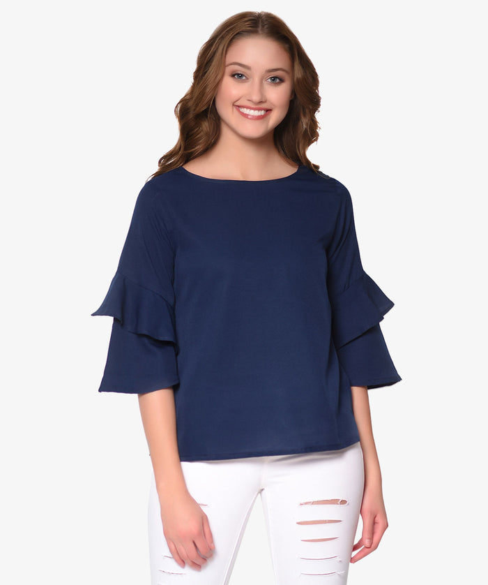Frill It Up Top - Raaika Clothing