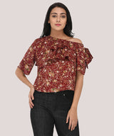The Blooming Ruffle Top - Raaika Clothing
