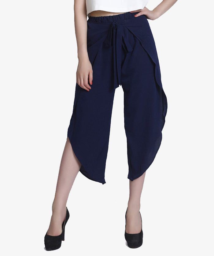 The Front Flared Knot Culotte