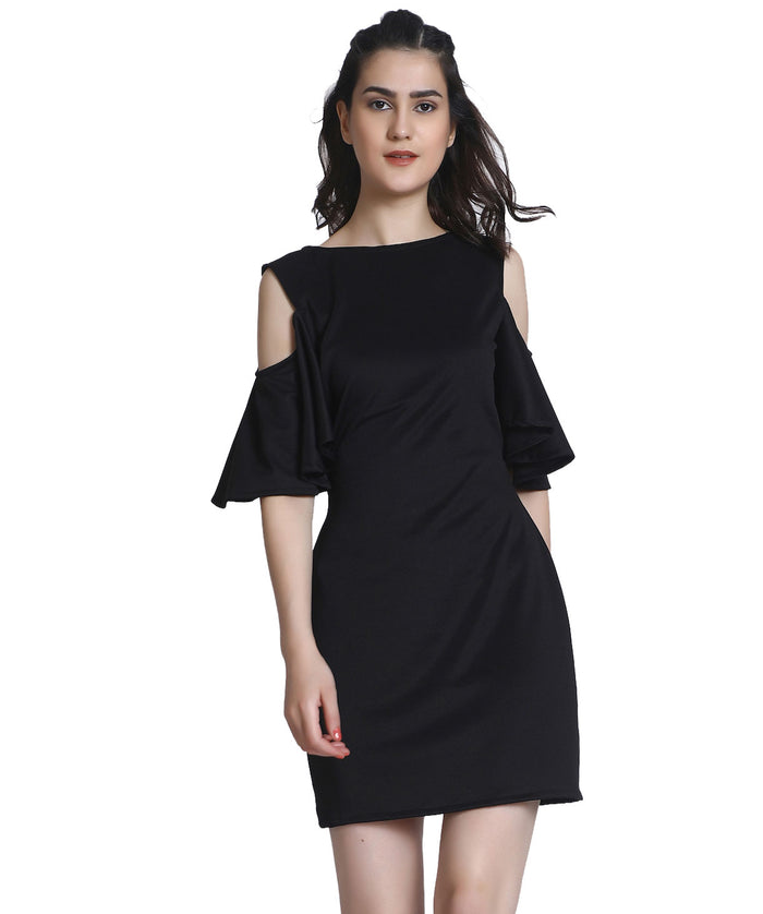 The Angellic Black Dress