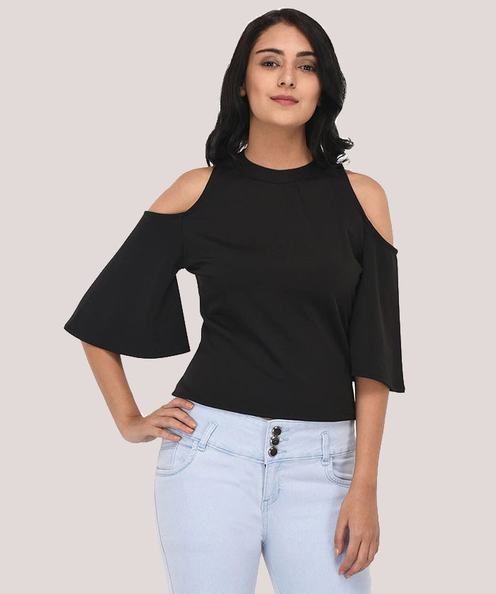 Delighted Bell Sleeve Top - Raaika Clothing