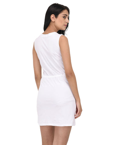 The Classic White Dress