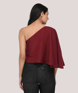 Sway It With One Shoulder Top - Raaika Clothing