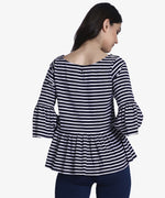 Fall For Stripes Top