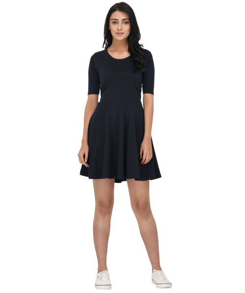The Girl In Blue Dress - Raaika Clothing