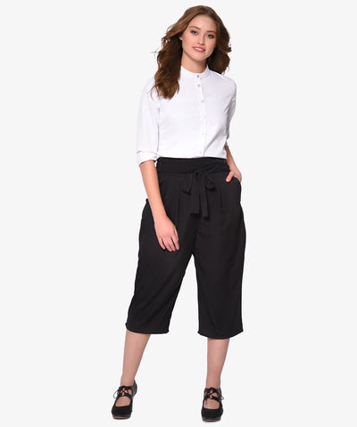 Waist Clenched Culotte
