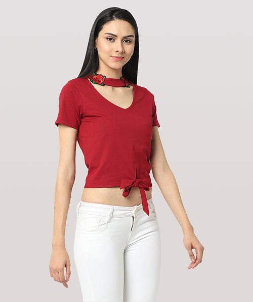 The Simply Red Top - Raaika Clothing