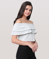 Butterfly Crop Top - Raaika Clothing