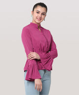 Rebel In Romance Top. - Raaika Clothing