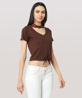 The Simply Brown Top - Raaika Clothing