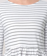 Stripes Be My Bae Top - Raaika Clothing