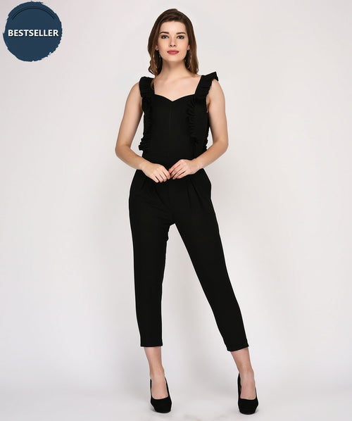 Frilly And Seductive Jumpsuit - Raaika Clothing