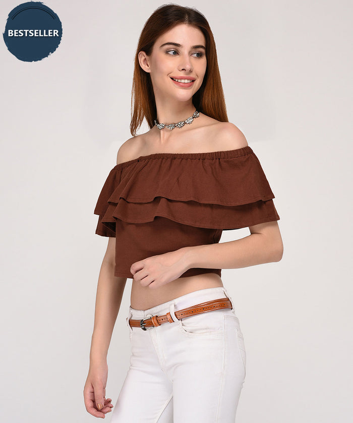 Glam Up Off Shoulder Top