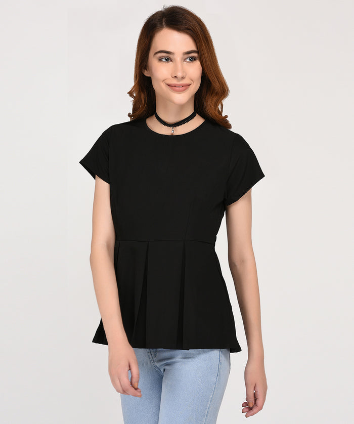 Endless Possibilities Black Top - Raaika Clothing
