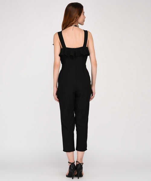 The Distinctive Frill Jumpsuit - Raaika Clothing