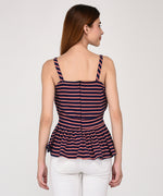 Picture Perfect Top With Stripes