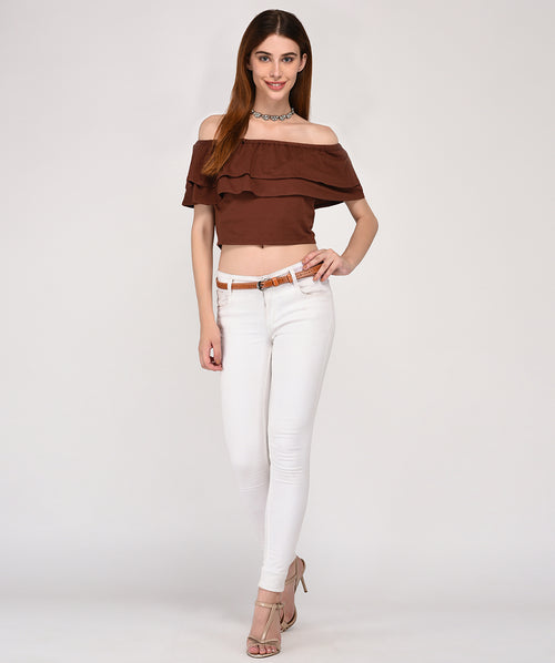 Glam Up Off Shoulder Top - Raaika Clothing