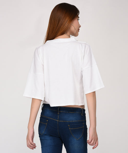 snow white top - Raaika Clothing
