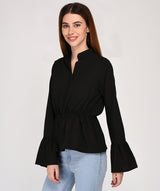 Party In Black Top - Raaika Clothing